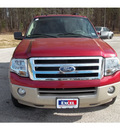 ford expedition el 2008 red suv eddie bauer gasoline 8 cylinders 2 wheel drive automatic 75657