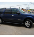 ford expedition el 2007 dk  blue suv xlt gasoline 8 cylinders rear wheel drive automatic 78757