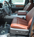 ford expedition 2012 brown suv king ranch flex fuel 8 cylinders 2 wheel drive 6 speed automatic 78523