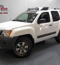 nissan xterra 2011 white suv pro 4x gasoline 6 cylinders 4 wheel drive automatic 75020