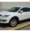 mazda cx 9 2009 white suv touring gasoline 6 cylinders front wheel drive automatic 78757