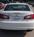 mitsubishi galant 2011 off white sedan fe gasoline 4 cylinders front wheel drive shiftable automatic 77090