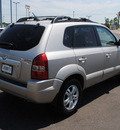 hyundai tucson 2006 silver suv limited gasoline 6 cylinders front wheel drive automatic 76087