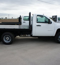 chevrolet silverado 3500hd cc 2012 summit white work truck short bed dually diesel 8 cylinders 2 wheel drive automatic 78009
