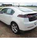 chevrolet volt 2012 white hatchback premium l 4 cylinders front wheel drive automatic 78009