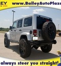 jeep wrangler unlimited 2012 silver suv rubicon mw3 gasoline 6 cylinders 4 wheel drive automatic 76450