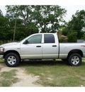 dodge ram pickup 1500 2006 silver slt gasoline 8 cylinders 4 wheel drive automatic 76543