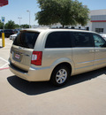 chrysler town and country 2011 gold van flex fuel 6 cylinders front wheel drive automatic 76053