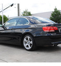 bmw 3 series 2008 black 328i gasoline 6 cylinders rear wheel drive automatic 77002