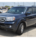honda pilot 2011 blue suv ex l 2w nv gasoline 6 cylinders front wheel drive automatic 78233