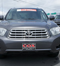 toyota highlander 2008 dk  gray suv base gasoline 6 cylinders all whee drive automatic 27215