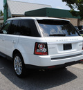 range rover range rover sport 2012 white suv hse gasoline 8 cylinders 4 wheel drive automatic 27511