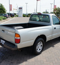 toyota tacoma 2004 silver pickup truck gasoline 4 cylinders rear wheel drive automatic with overdrive 76087