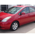 toyota prius 2008 red hatchback standard hybrid 4 cylinders front wheel drive automatic 77802
