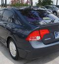 honda civic 2007 dk  gray sedan hybrid w navi hybrid 4 cylinders front wheel drive automatic 77339