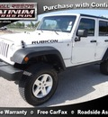 jeep wrangler unlimited 2008 white suv rubicon gasoline 6 cylinders 4 wheel drive automatic 77388