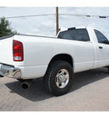 dodge ram pickup 2500 2005 white st longbed diesel 6 cylinders rear wheel drive automatic 78006