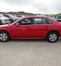 chevrolet impala 2011 red sedan lt fleet flex fuel 6 cylinders front wheel drive automatic 78064