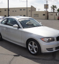 bmw 1 series 2009 silver coupe 128i gasoline 6 cylinders rear wheel drive automatic 79925
