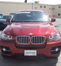 bmw x6 2009 red suv xdrive50i 8 cylinders all whee drive automatic 79925