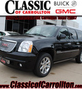 gmc yukon xl 2012 black onye suv denali flex fuel 8 cylinders 2 wheel drive automatic 75007