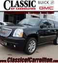 gmc yukon xl 2012 black onye suv denali flex fuel 8 cylinders 2 wheel drive automatic 75007