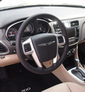 chrysler 200 convertible 2012 white touring flex fuel 6 cylinders front wheel drive automatic 76051