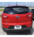 kia sportage 2012 dk  red suv lx gasoline 4 cylinders front wheel drive 6 speed automatic 77539