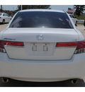 honda accord 2011 white sedan ex v6 gasoline 6 cylinders front wheel drive automatic 77065