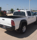 toyota tacoma 2012 white prerunner v6 gasoline 6 cylinders 2 wheel drive 5 speed automatic 76049