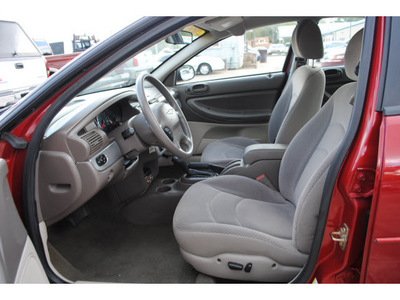 chrysler sebring 2006 red sedan touring gasoline 6 cylinders front wheel drive automatic with overdrive 77531