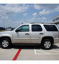 chevrolet tahoe 2007 silver suv ls gasoline 8 cylinders rear wheel drive automatic 76503