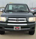 toyota tundra 2005 dk  green sr5 gasoline 8 cylinders rear wheel drive automatic with overdrive 77469