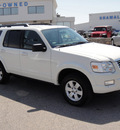 ford explorer 2010 white suv xlt gasoline 6 cylinders 4 wheel drive automatic 79936
