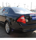 ford fusion 2012 black sedan sel gasoline 4 cylinders front wheel drive automatic with overdrive 78861
