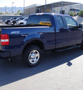 ford f 150 2008 blue styleside gasoline 8 cylinders 2 wheel drive automatic 79922