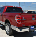 ford f 150 2011 red xlt gasoline 6 cylinders 2 wheel drive automatic 78861