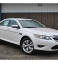ford taurus 2012 white sedan sel gasoline 6 cylinders front wheel drive automatic 78861