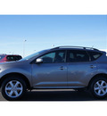nissan murano 2009 lt  gray suv sl gasoline 6 cylinders front wheel drive automatic with overdrive 79119