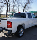 chevrolet silverado 1500 2012 white lt flex fuel 8 cylinders 2 wheel drive 6 speed automatic 76240