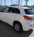 mitsubishi outlander sport 2012 white suv es gasoline 4 cylinders front wheel drive automatic 75062