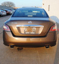 nissan maxima 2012 dk  brown sedan 3 5 s gasoline 6 cylinders front wheel drive cont  variable trans  75150