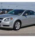 chevrolet malibu 2012 silver sedan ls gasoline 4 cylinders front wheel drive automatic 78216