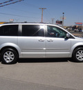 chrysler town and country 2010 silver van touring gasoline 6 cylinders front wheel drive automatic 79936