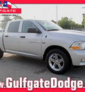 ram ram pickup 1500 2012 bright silv met gasoline 8 cylinders 2 wheel drive 6 speed automatic 77017