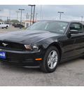ford mustang 2012 black coupe v6 gasoline 6 cylinders rear wheel drive 6 speed manual 78861