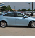 chevrolet cruze 2011 lt  blue sedan eco gasoline 4 cylinders front wheel drive automatic 78130