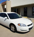 chevrolet impala 2006 white sedan ls flex fuel 6 cylinders front wheel drive automatic with overdrive 76108