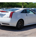 cadillac cts v 2012 white coupe gasoline 8 cylinders rear wheel drive automatic 77074