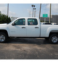 gmc sierra 2500hd 2012 white work truck gasoline 8 cylinders 2 wheel drive automatic 77074